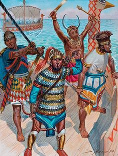 Greek History and Prehistory: Sea Peoples and Philistines - Prehistoric Greeks in Middle East
