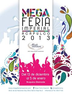 La Mega Feria Imperial de Acapulco podrás disfrutar de juegos mecánicos, gastronomía de talla internacional, conciertos, y muchas cosas más. Del 13 de diciembre al 5 de enero.