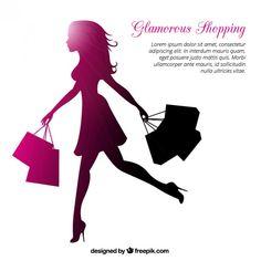 Shopping Queen, Funny Baby Memes, Bag Quotes, Fashion Logo Design, Vide Dressing, Boutique Logo, Beauty Logo, Black Women Art, Girls World