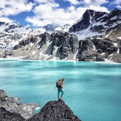 Wedgemount Lake Hiking Places, Beautiful Places To Visit, Travel Goals, British Columbia, Outdoor Activities, The Great Outdoors, Travel Destinations, Places To Go, Scenery