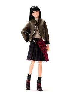 Sekiguchi Pre order momoko DOLL tartan syndrome New Condition : Brand New Costume: MA-1, pullover knit, tartan check winding skirt, socks, shorts, 10-hole boots. Doll: Natural skin Size: Height about 27cm Release date: a (Barcode EAN = 4905610219339) http://www.comparestoreprices.co.uk/december-2016-5/sekiguchi-pre-order-momoko-doll-tartan-syndrome-new.asp