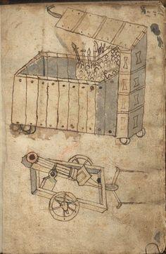 Feuerwerkbuch etc. 1462-63 Hs 719  Folio 4r