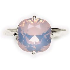 Sterling Silver Rose Water Opal Ring At TheShayBoutique.com