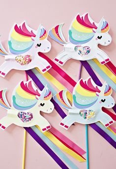 MAGICAL UNICORN POOPING SPRINKLES PAPER CRAFT