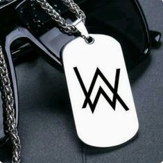 dj alan walker necklace for fans boys faded titanium steel Avicii, Walker Logo, Music And The Brain, Allen Walker, Best Dj, Dark Photography, Electronic Music, Dubstep, Wallpapers