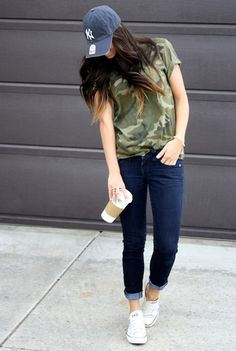 I don't like camo but this outfit is cute