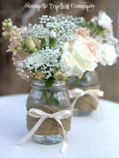 Adorable table center pieces