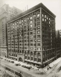 Adler & Sullivan, Chicago Stock Exchange, Chicago, Illinois, 1894, Demolished 1971-1972