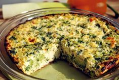 Easy Vegetarian Dinner, Frittata, Love Food, Stevia, Paleo, Food And Drink, Low Carb, Snacks, Meals