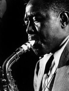 "Herman Leonard     Charlie Parker, New York City     1948    ""Once I could play what I heard inside me, that's when I was born."" Charlie Parker"