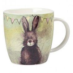 Alex Clark Bunting Hare Mug