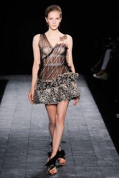 Valentino Fall 2009 Couture Fashion Show - Dorothea Barth Jorgensen (OUI)
