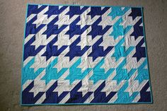 Houndstooth Baby Quilt (See Missouri Star Quilt Company for Video Tutorial)