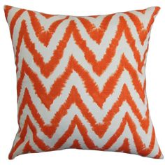 Brighten up your living room, lounge, bedroom or any part of your interior with this eye-catching accent Cushion Cover. This square Cushion Cover adds a funky touch to your space with its zigzag ikat pattern in aquarius blue and white color palette. You can make use of this decor Cushion Cover as a back support or a highlight piece for your furniture. This plush and soft throw Cushion Cover is made from cotton fabric.