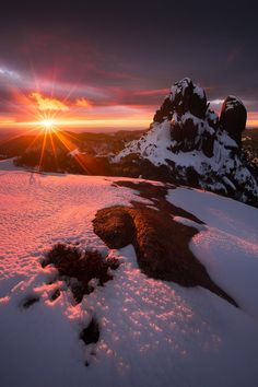 Fabulouse Sunrise - The Cathedral, Mt Buffalo National Park, Victoria, Australia
