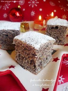 Gabriella kalandjai a konyhában :): Kavart mákos - avagy bögrés mákos Poppy Cake, Recipies, Sweets, Cookies, Food, Hungary, Recipes, Crack Crackers, Good Stocking Stuffers