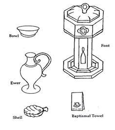 symbols of catholic baptism - Google Search   needle ...