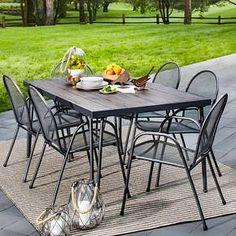 Fairmont Steel 7 Piece Patio Dining Set   Threshold™   Dining Sets, Patio  Dining Sets And Target