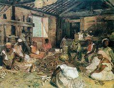 Modesto Brocos - Engenho de Manidoca -1892 - Óleo sobre a tela - 59x75,5 - Museu Nacional de Belas Artes - RJ