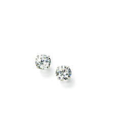 Diamond stud earrings are a timeless must-have. Set in white gold, this exceptional ct. pair is hand-selected and meticulously matched for size, color, cut and clarity. Item no. Diamond Studs, Diamond Earrings, Stud Earrings, Clarity, Jewelry Box, White Gold, Color, Beauty, Style