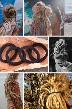 Thick Black Dreadlock Hair Elastics | Set Of 4 — Dreadlock Hairstyles for men and women. Mountain Dreads Dreadlock Accessories. #dreadaccessories #dreadbands #dreads #dreadlocks #dreadlockhairstyles