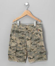 Cute camo boys shorts