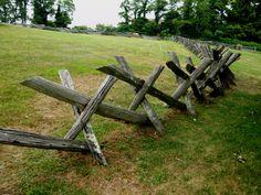 buck-rail fence, Blue Ridge Parkway Types of Buck and Rail Fences