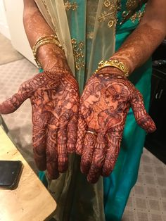 Bridal Mehndi Designs, Bridal Henna, Henna Designs, Hand Henna, Hand Tattoos, Fashion, Henna Art Designs, Moda, La Mode