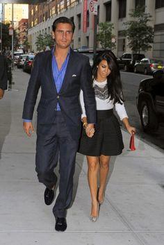 Ted Baker top and skirt #kourtney #kardashian