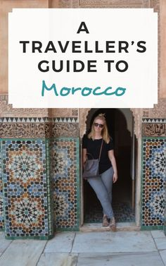 A traveller's guide to Morocco! / Sophie's Suitcase