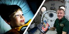 As a kid, being read a bedtime story was one of my favorite times of the day. But one lucky boy just seriously upped the stakes — by having his bedtime story read by Tim Peake from space! Back in December, Roraigh brought his personalized… 2nd Grade Books, Tim Peake, Space Activities, Astronauts In Space, Kids Story Books, 7 Year Olds, Bedtime Stories, Out Of This World, Stargazing