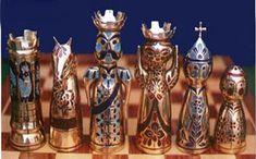 """Képtalálat a következőre: """"antique chess board"""""""