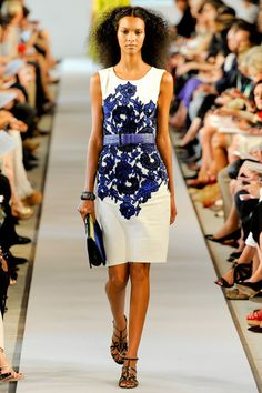 Oscar de la Renta Spring 2012 Ready-to-Wear Collection Photos - Vogue