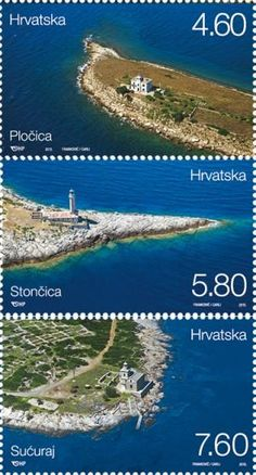 StampedeBeta - Stamp Profile - Lighthouses 2013 featured on new Croatian stamps | Stampnews.com