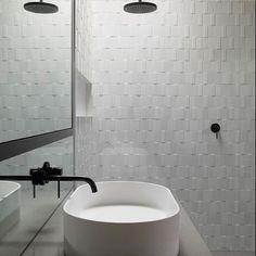 Bathroom neutrals Regram from: @neutralinstinct #interior #design #interiordesign #neutral #monochrome #scandi #nordsk #blackandwhite #minimal by takhushome