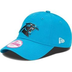 New Era Carolina Panthers Women's Essential 9FORTY Structured Adjustable Hat