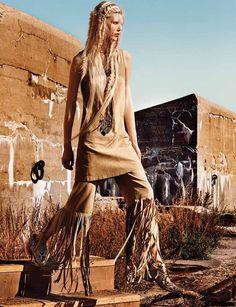 Interview US Janeiro 2014 | Devon Windsor, Ola Rudnicka e mais por Craig McDean [Editorial] Blog de moda