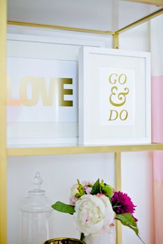 #office, #white  Photography: Jamie Lauren Photography - jamielaurenphotography.com/  Read More: http://www.stylemepretty.com/living/2014/03/24/behind-the-blog-with-the-doctors-closet/