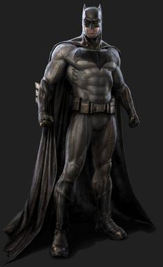 Batfleck artwork.