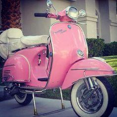 Pink Motorcycle