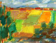 "OSTERMAN, ELVINE (1908-1997) ""Fields"""