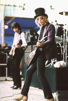 old school Tom Petty:) singer, musician