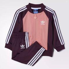 Conjunto De Bebé Adidas Superstar. Original Importado - $ 1.099,00