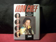 Iron Chef: The Official Book 2001 by Fuji Television BK3