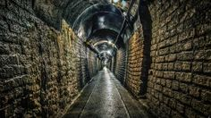 brick lined underground tunnel hdr - lights, bricks, tunnel, arch, hdr Bricks, Hdr, Character Art, Desktop, Arch, Scene, Wallpapers, Lights, House
