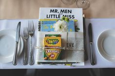 book themed favours Photography Credit: Simon Peter Taylor Photography
