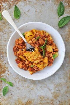 Vegetarian Bolognese with Tofu