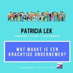 Kom je ook? Ik ben gastspreker op de Startersdagen | Ondernemersdagen op 23 mei te Zoetermeer. Bezoek mijn stand en schrijf je in voor het seminar Wat maakt je een krachtige ondernemer? Mei