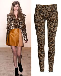 THE TREND: LEOPARD PRINT - Runway inspiration: Peter Som. Shop it: H&M, $20; hm.com #InStyle