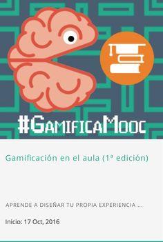 """Inscripción abierta para el #MOOC_INTEF """"Gamificación en el aula (1ª edición)"""